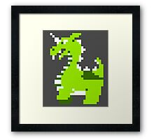 Legend of Zelda: Aquamentus is Terrifying Framed Print