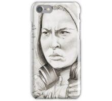 'Ronda' gourmet caricature by Sheik iPhone Case/Skin