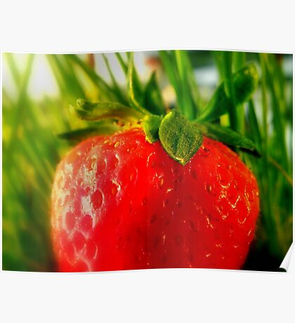 Pur Strawberry  Poster