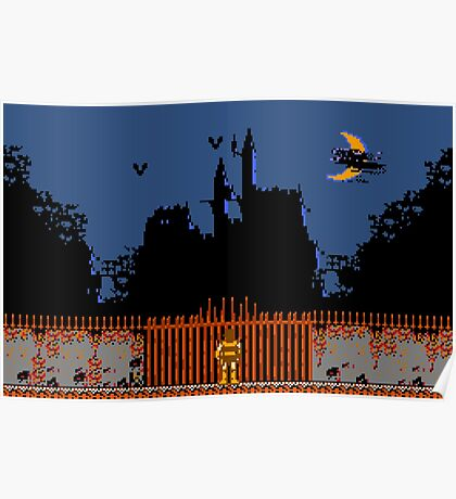 Castlevania - Dracula's Castle Poster