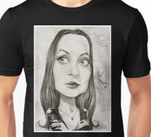 'Morticia' gourmet caricature by Sheik Unisex T-Shirt