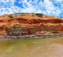 River Mouth, Port Noarlunga South, Australia by Ali Brown