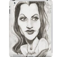 'Lily' gourmet caricature by Sheik iPad Case/Skin