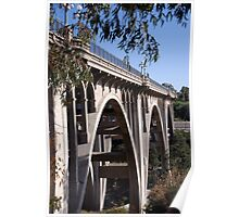 """Pasadena Bridge2"" Poster"