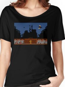 Castlevania - Dracula's Castle Women's Relaxed Fit T-Shirt