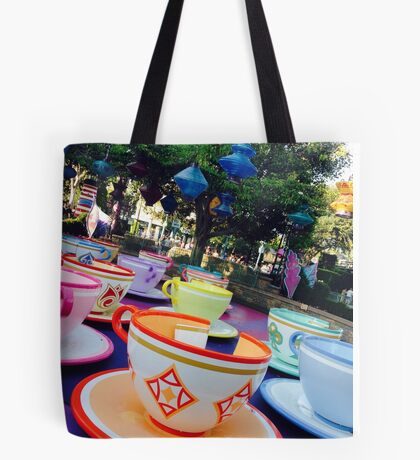 Tea Cups Tote Bag