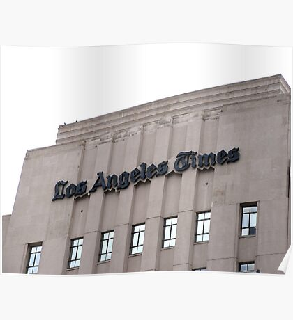 """The """"Old L.A. Times"""" Building Poster"""