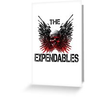 the expandables Greeting Card