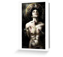 The Martyrdom of Saint Sebastian Greeting Card