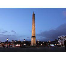Place de la Concorde, Paris Photographic Print