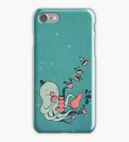 Tea and Tentacles iPhone Case/Skin