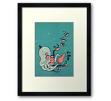 Tea and Tentacles Framed Print