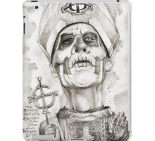 'Papa Emeritis II' gourmet caricature by Sheik iPad Case/Skin