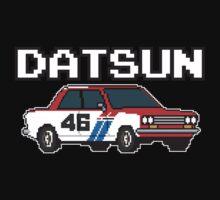 Datsun 510 8Bit One Piece - Short Sleeve