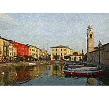 Coloured lake Photographic Print