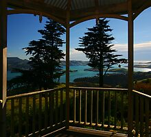 Gazebo with a view by David  Hibberd