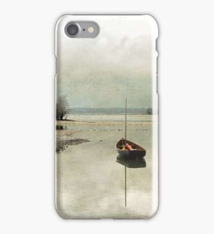Winter Morning by the Lake iPhone Case/Skin