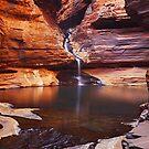 Reagans Pool - Karijini N.P.  Western Australia by Mark Shean