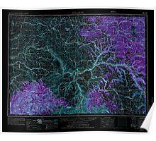 USGS Topo Map Washington Pullman 243316 1955 250000 Inverted Poster