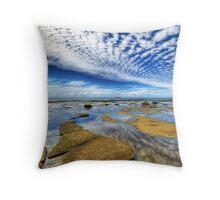 Cloudwave Throw Pillow