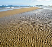 Ripples On North Mission Beach 4 by STHogan