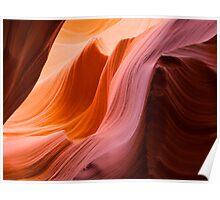 The Wave at Antelope Canyon Poster