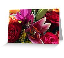 Bouquet of flowers Greeting Card