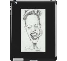 'Twerkin' gourmet caricature by Sheik iPad Case/Skin