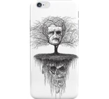 Edgar Allen Poe, Poetree iPhone Case/Skin