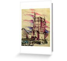 The Storming Of The Bastille July 14th, 1789 Greeting Card