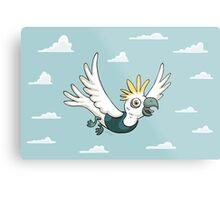 Sulphur Crested Cockatoo in a singlet Metal Print