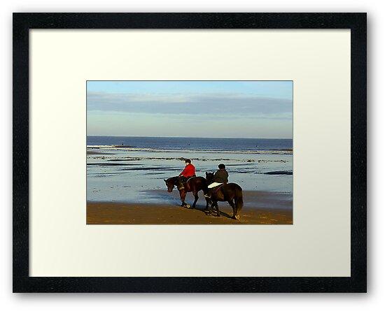 On the Beach #3 by Trevor Kersley