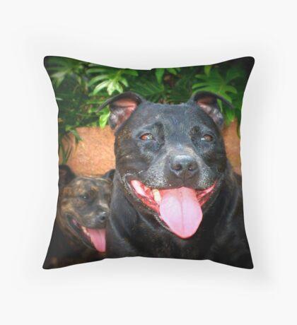 Lily Bet Throw Pillow