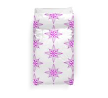 simple star neon pink Duvet Cover