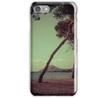 Leaning with the wind iPhone Case/Skin