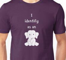 I Identify as an Elephant Unisex T-Shirt