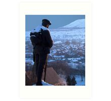 Clitheroe Soldier Art Print