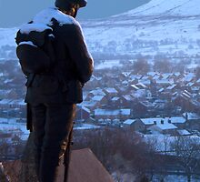 Clitheroe Soldier by Peter Elliott