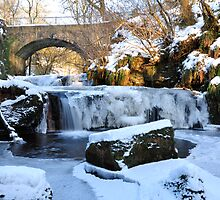 Frozen Waterfall,Kilsyth,Scotland by Jim Wilson