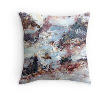 Sunset by the River Throw Pillow