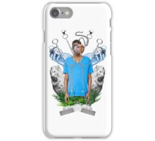 Blue tshirt iPhone Case/Skin