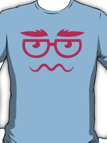 Cartoon Hipster T-Shirt