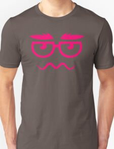 Cartoon Hipster Unisex T-Shirt