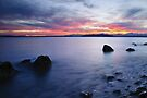 End of day at Alki Beach by Dan Mihai