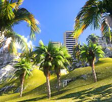 Hawaiian paradise by dharmanoid