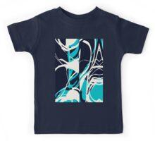 Abstract Splash Kids Tee