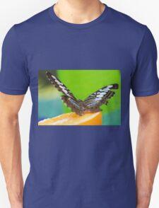 butterffly on fruit Unisex T-Shirt