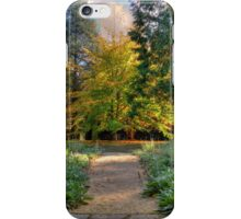 Autumn's Threshold iPhone Case/Skin
