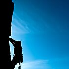 Rock climber by fatty-arbuckle