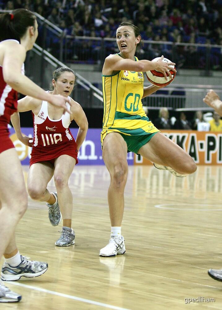 Netball. England v Australia 1 by gpedliham